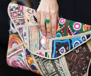 accessories, bag, and boho image