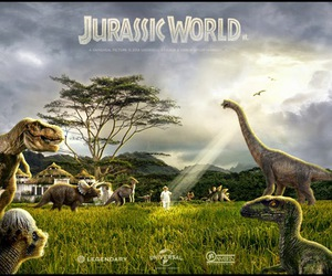 dinosaur, jurassic, and world image