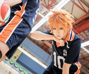 cosplay, haikyuu, and anime image