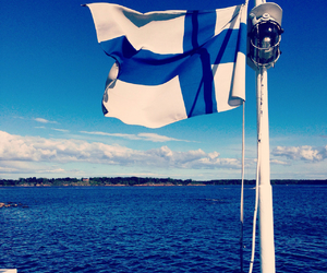 finland, travelling, and sea image