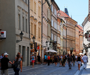 backpacking, buildings, and prague image
