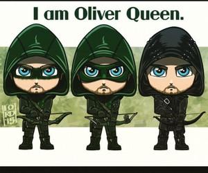 arrow, Queen, and verde image