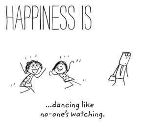 dance, enjoying, and quote image