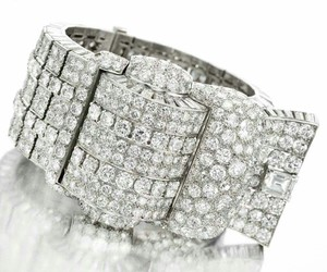 bracelet, precious, and diamond image