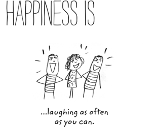 laughing, life, and quote image