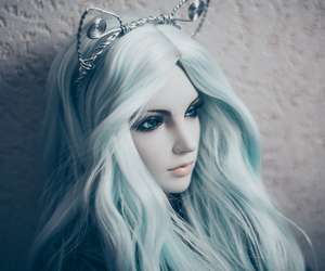 bjd, doll, and girl image