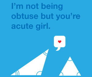 cute, math, and obtuse image