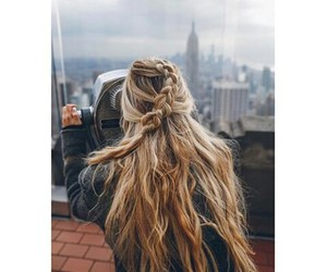 hair, girl, and Dream image