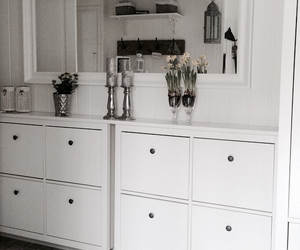 decor, furniture, and gray image
