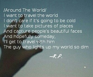 poem, poetic, and travel image