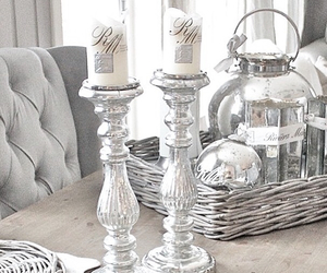 candles, cosy, and decor image