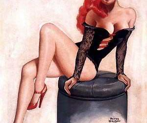 burlesque and pinup image
