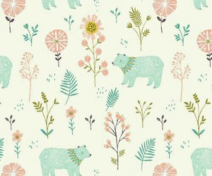 background, wallpaper, and bear image