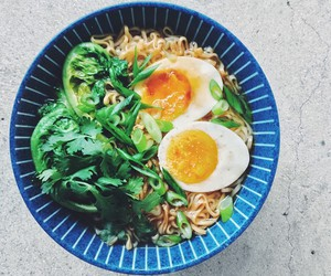 cilantro, egg, and japanese food image