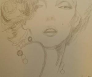 drawing, pencil, and art image