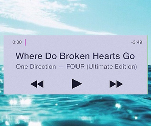 four, 1d, and where do broken hearts go image