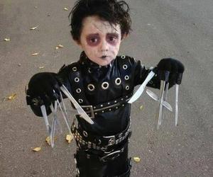 Halloween, edward scissorhands, and kids image