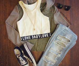 clothes, summer, and healthy image