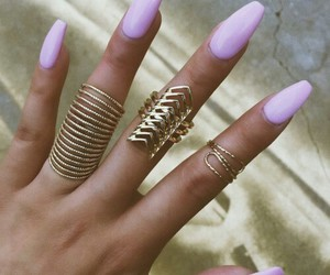 goal, pink color, and nails image