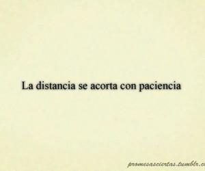 distancia and frases en español image