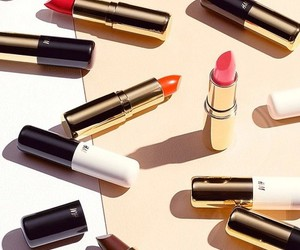 H&M, lipstick, and red image