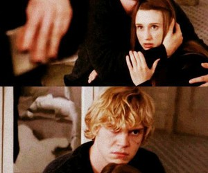 evan peters, taissa farmiga, and ahs coven image