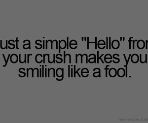 crush, love?, and smile image
