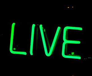 green and live image