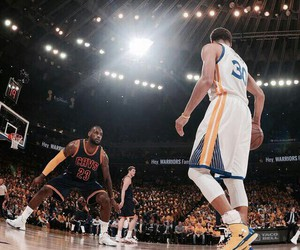 warriors and cavaliers image