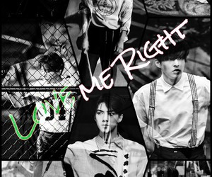 exo, suho, and love me right image