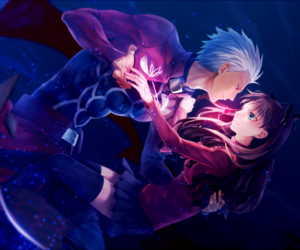 anime, archer, and fate stay night image