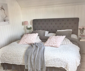 bed, cosy, and decor image