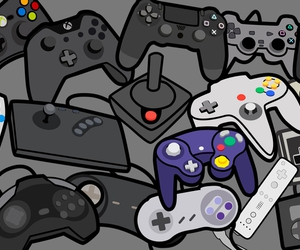 console, videogames, and wii image