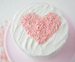 cake, food, and pink image