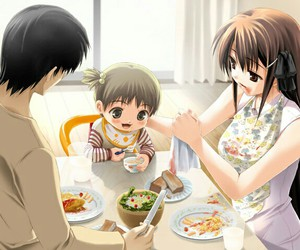 anime and family image