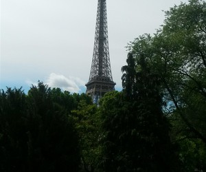 beautiful, effiel tower, and france image