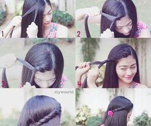 diy, hair, and love image