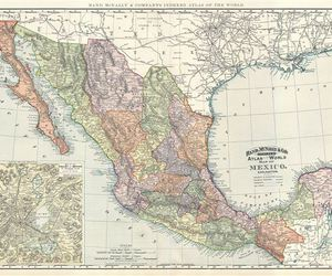 map, maps, and mexico image