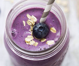 smoothie, blueberry, and berries image