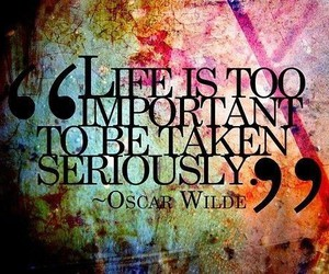 important, oscar, and wilde image