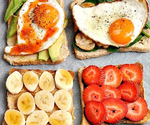 breakfest, sandwich, and food image