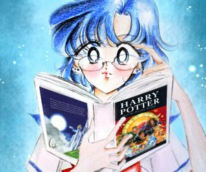harry potter and sailor moon image