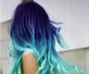 hair and blue image