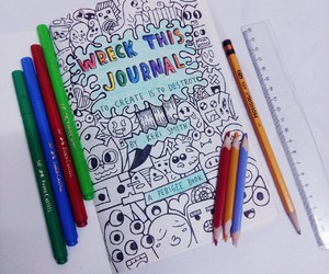 art, creative, and doodle image