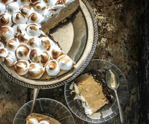 cake, caramel, and cheesecake image