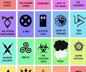 divergent, harry potter, and teen wolf image
