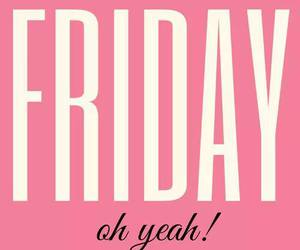 friday, pink, and weekend image
