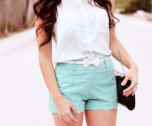 blanco, outfit, and moda image