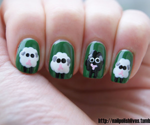 nails and sheep image