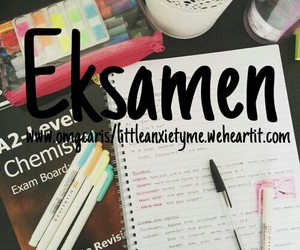 afrikaans, quote, and eksamen image